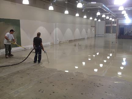 Self Leveling Floor Underlayment Equipment And Pumps Graco