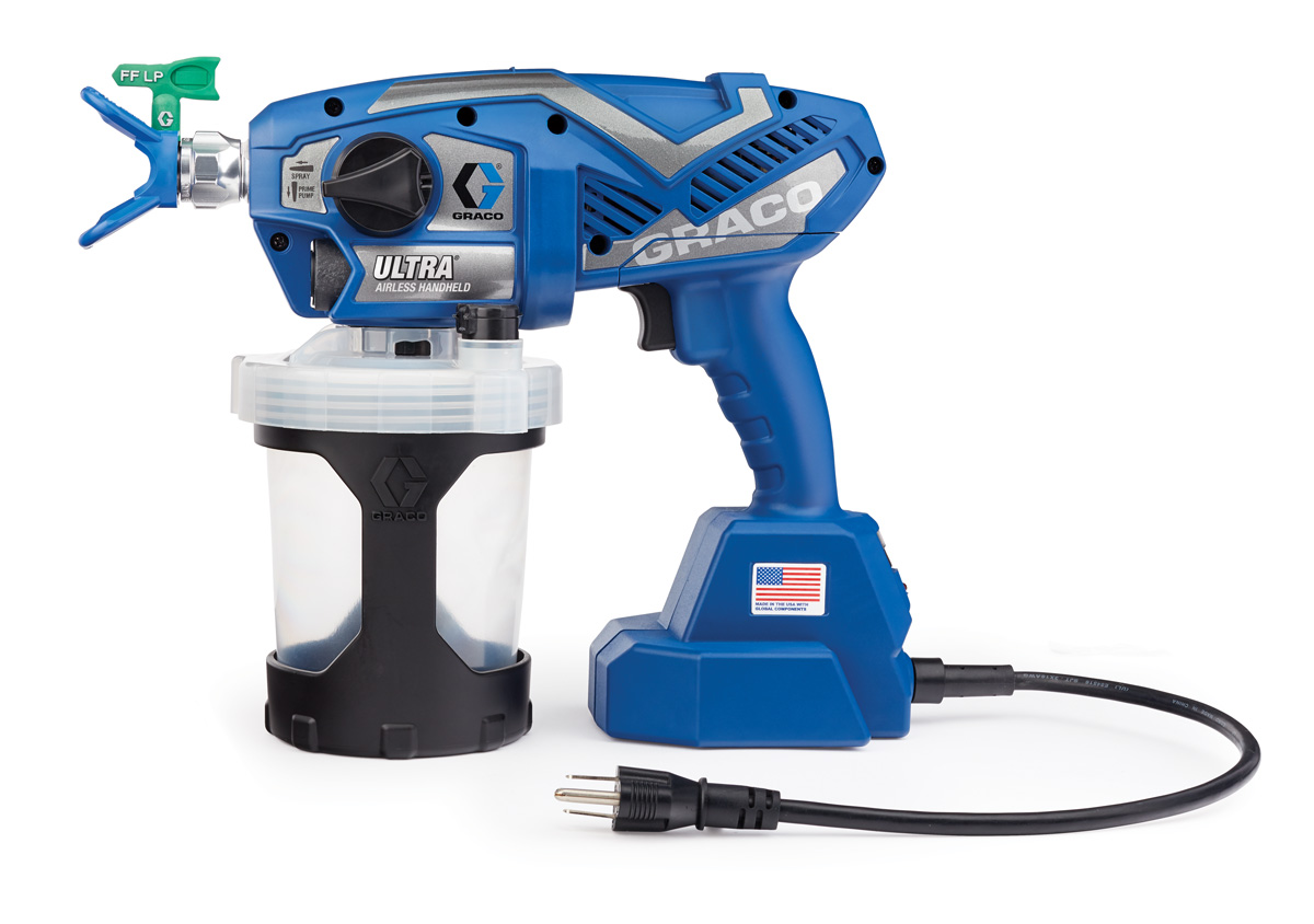 Spray gun electric - an indispensable tool for painting