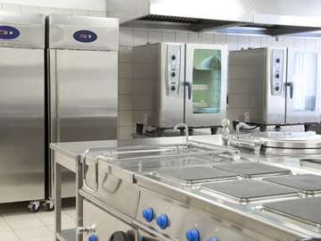 Disinfecting surfaces in a commercial kitchen