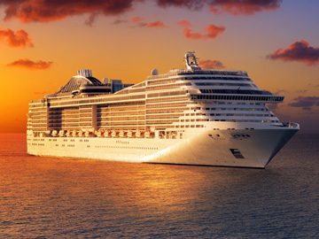 Cruise ship disinfection & sanitizing