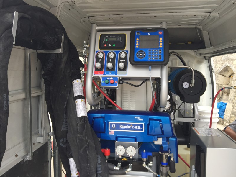 Feed pumping system in minivan