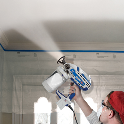 How To Paint A Popcorn Ceiling Graco Homeowner