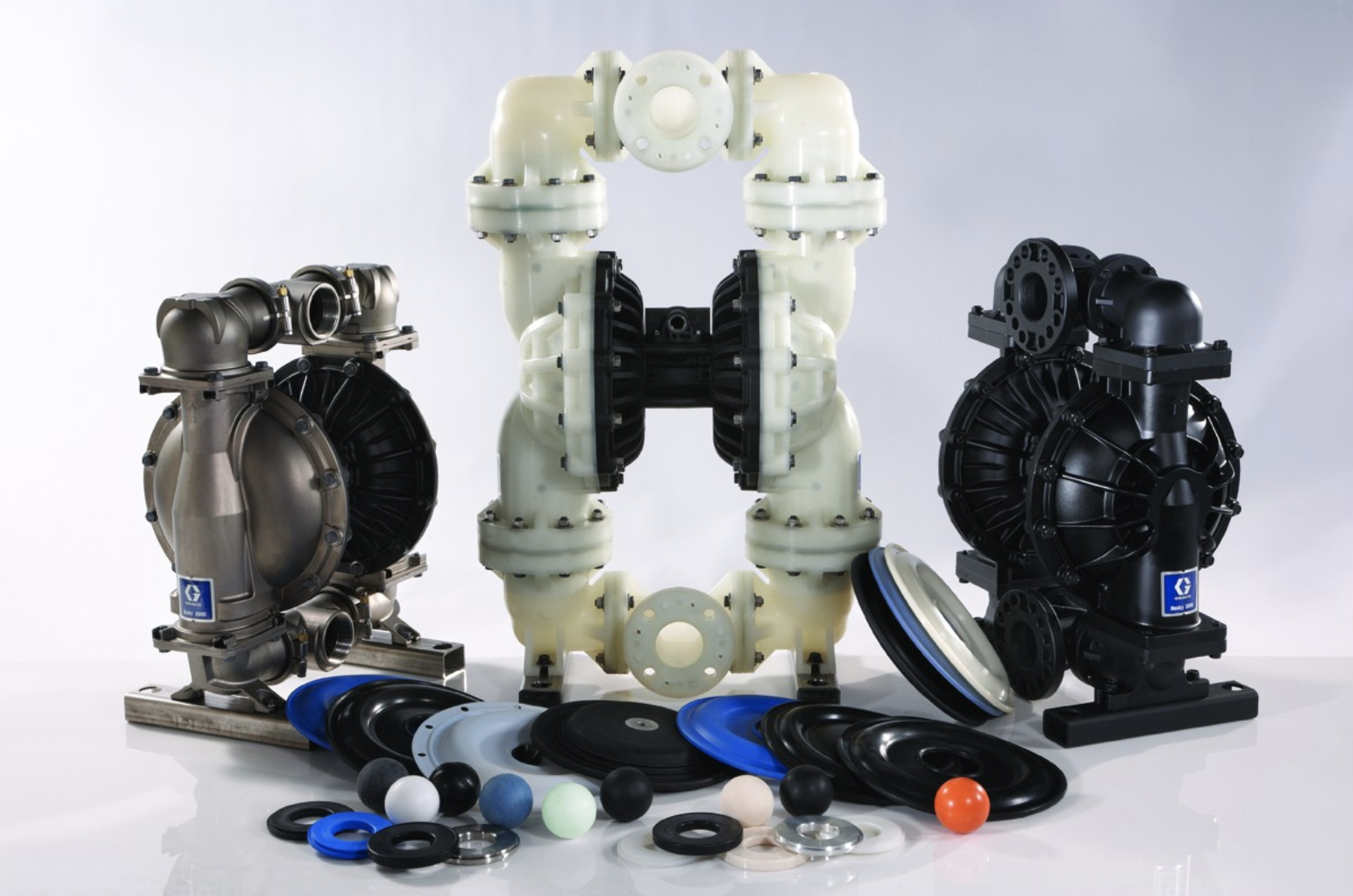 Husky air operated diaphragm pumps and repair parts