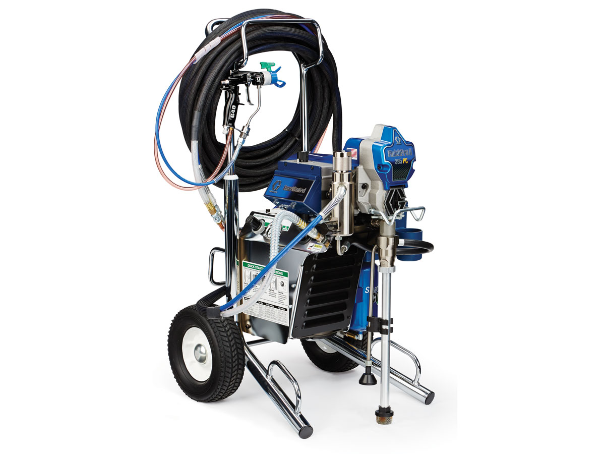 Graco air-assisted airless sprayer