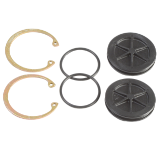 Air Valve End Cap Kit, Standard, for systems with no DataTrak or with DataTrak with Cycle Count