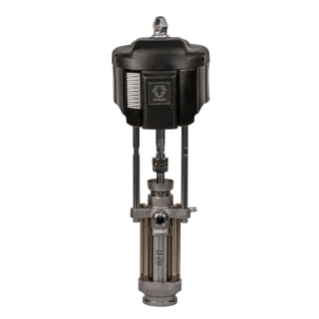 15:1 - 430cc Dura-Flo Pump with NXT 3400 Air Motor, Severe Duty Stainless Steel Construction