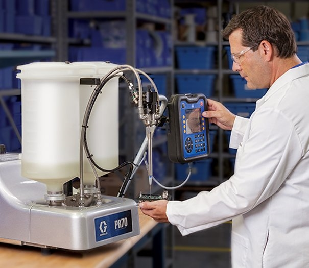 Meter Mix Amp Dispense Equipment For Sealant Amp Adhesives