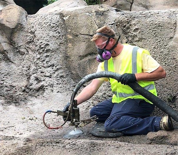 Foam Slab Jacking Pumps Concrete