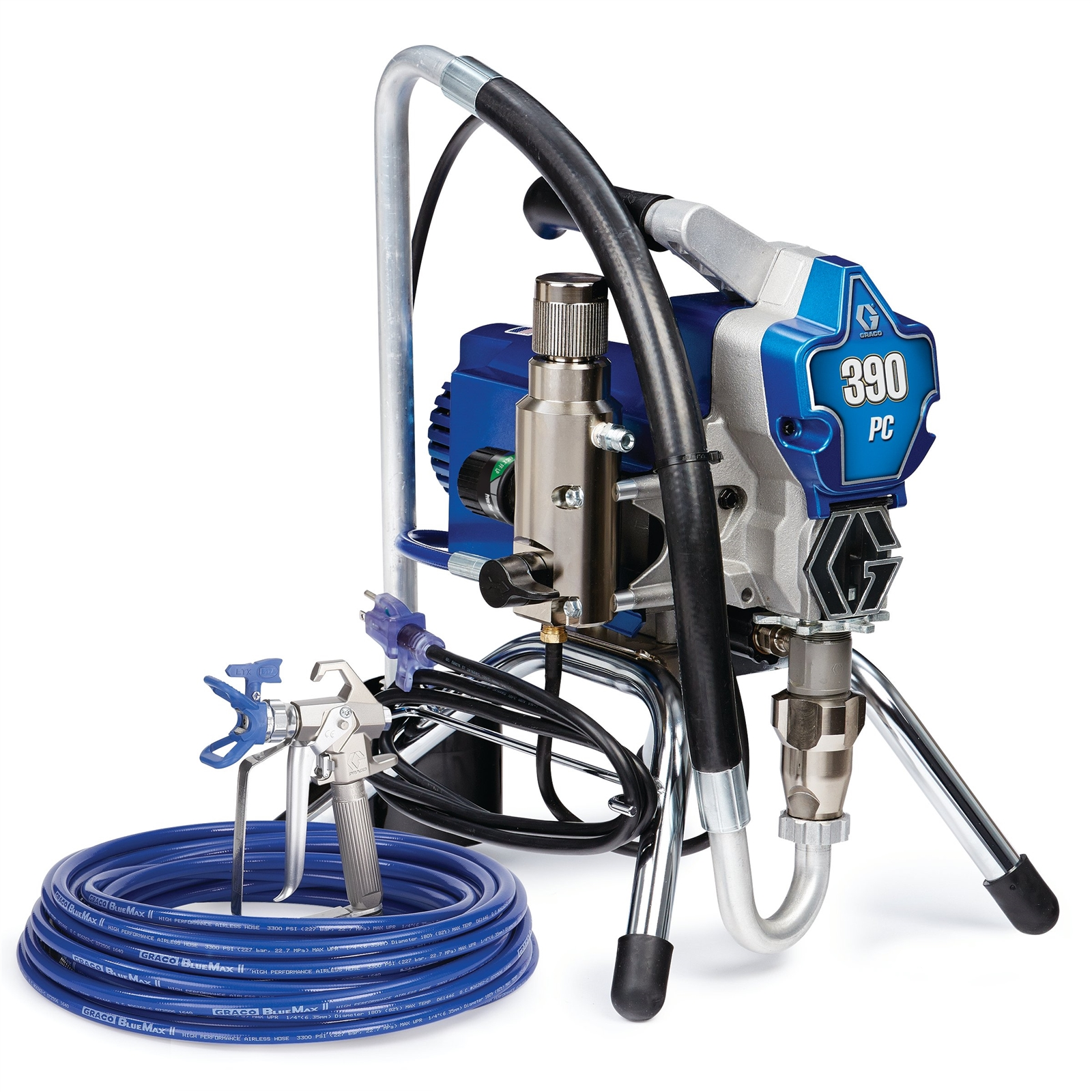 390 PC Electric Airless Sprayer, Stand
