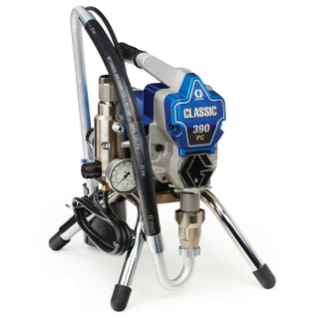 Classic 390 PC Electric Airless Sprayer, Stand, 110V, UK