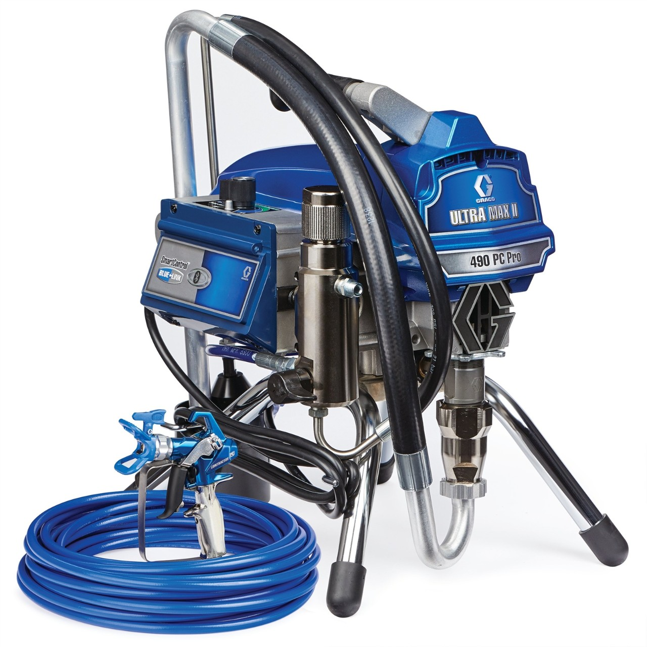 Ultra Max II 490 PC Pro Electric Airless Sprayer, Stand