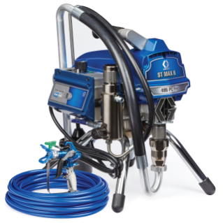 ST Max II 495 PC Pro Electric Airless Sprayer, Stand, 230V, Multicord