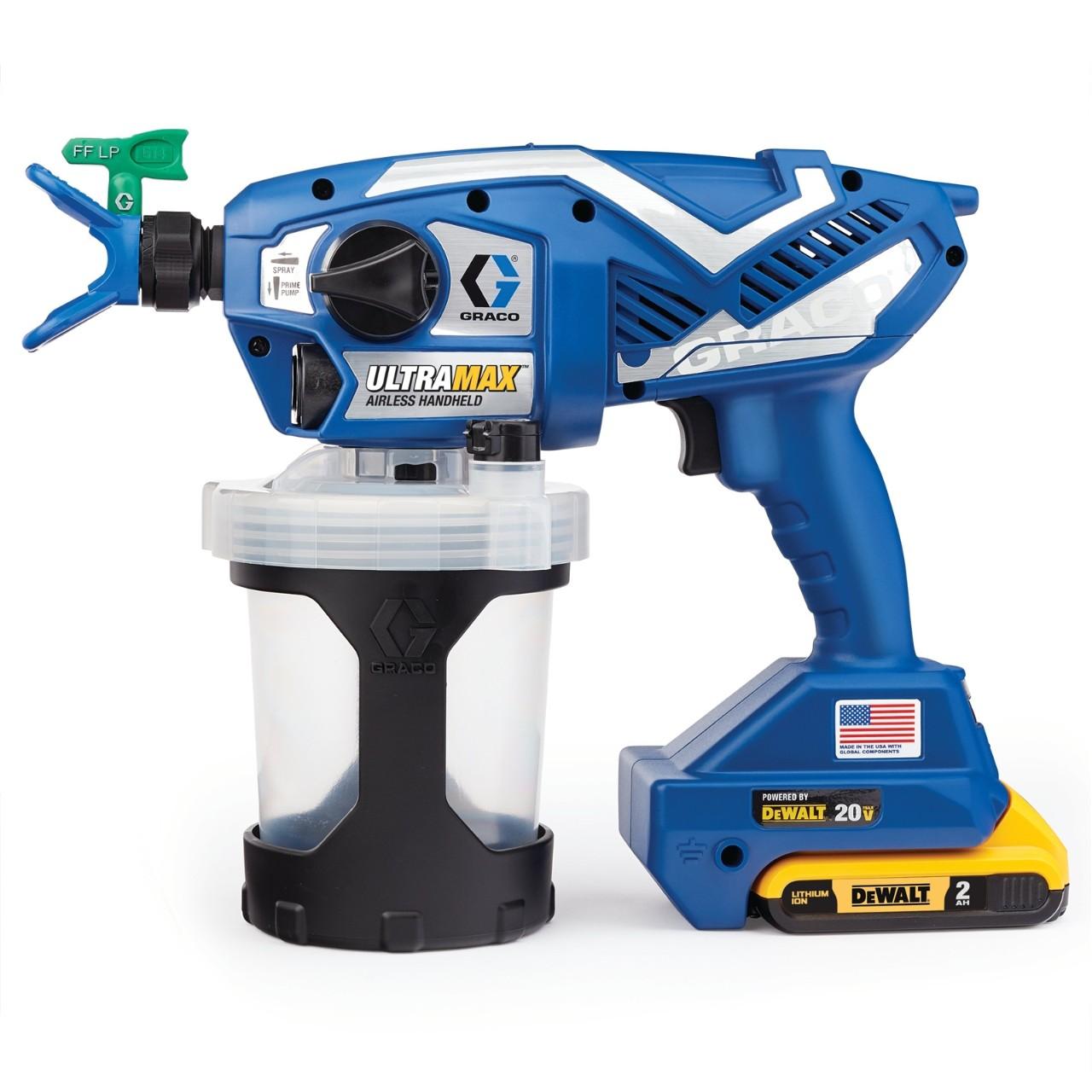UltraMAX Cordless Handheld Airless Sprayer