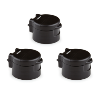 VacuValve Cap Replacements, 3 pack