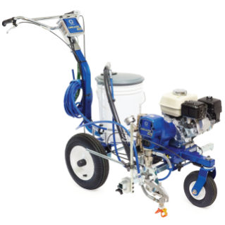 LineLazer 3400 Petrol Airless Line Striper, 1 Manual Gun