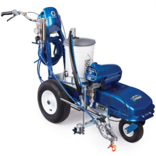 LineLazer ES 1000 Electric Battery-Powered Airless Line Striper, 2 Batteries