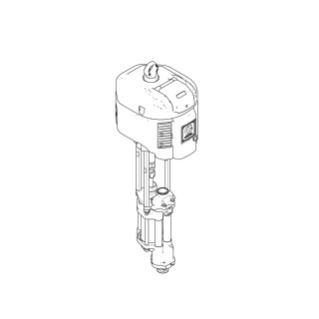 High-Flo 4-Ball Pump, CS, 3.5:1, Low Noise Exhaust, DataTrak, Open Wet Cup Lower, NPT Fittings, Ultralife Rod/Cylinder