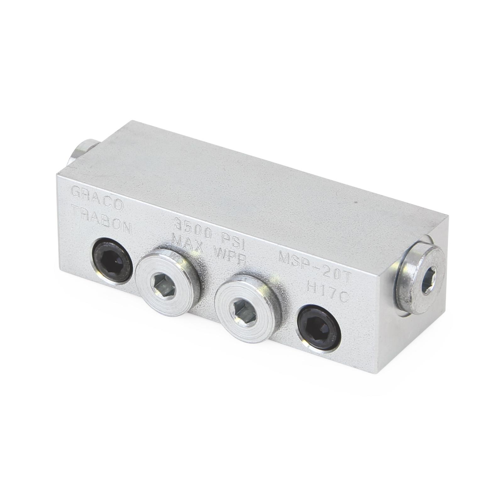 Graco Trabon Modular Valve Assembly MSP-30S