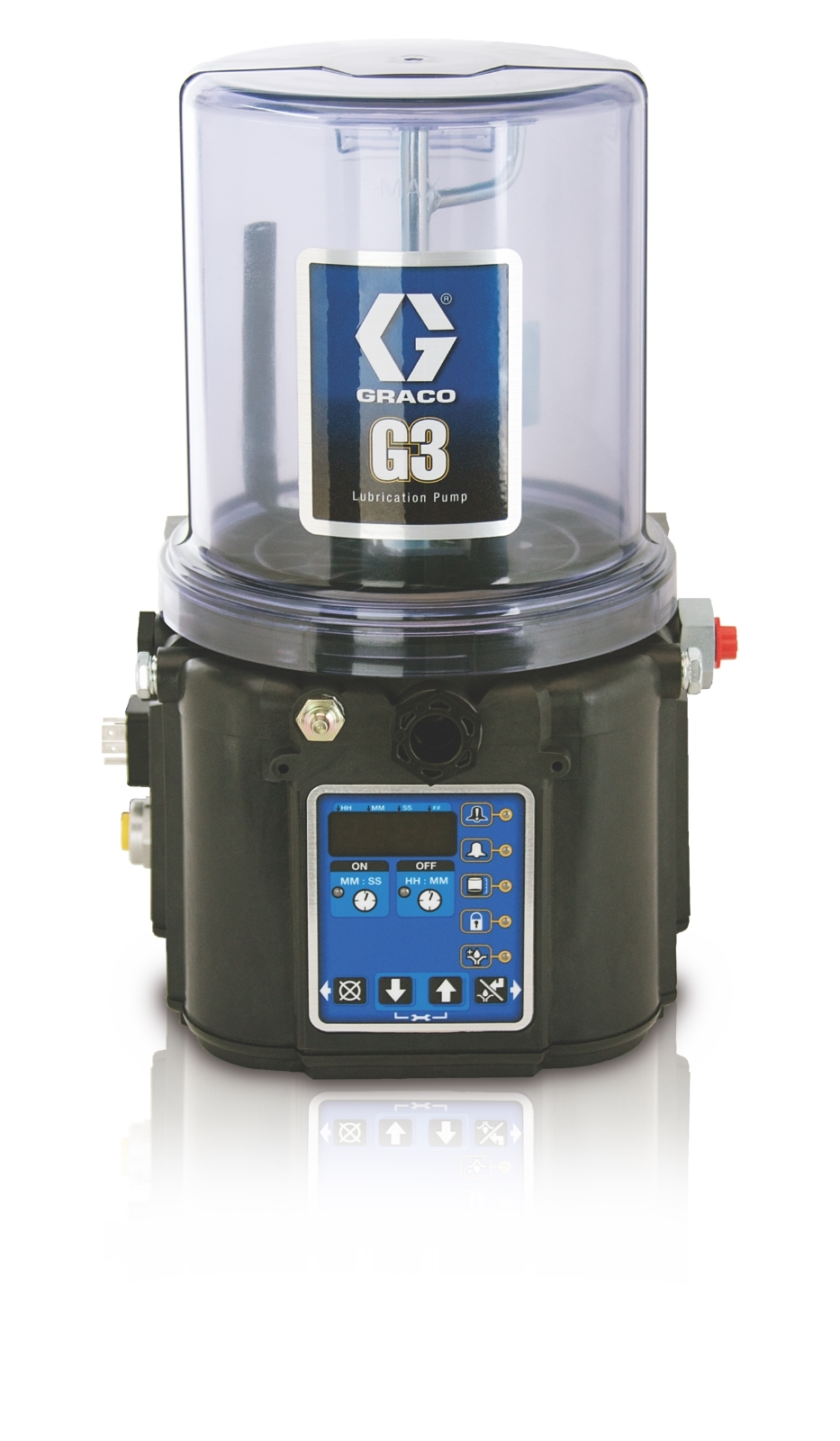 G3™ Pro Oil Lubrication Pump, 24 VDC, 4 Liter, Low Level with