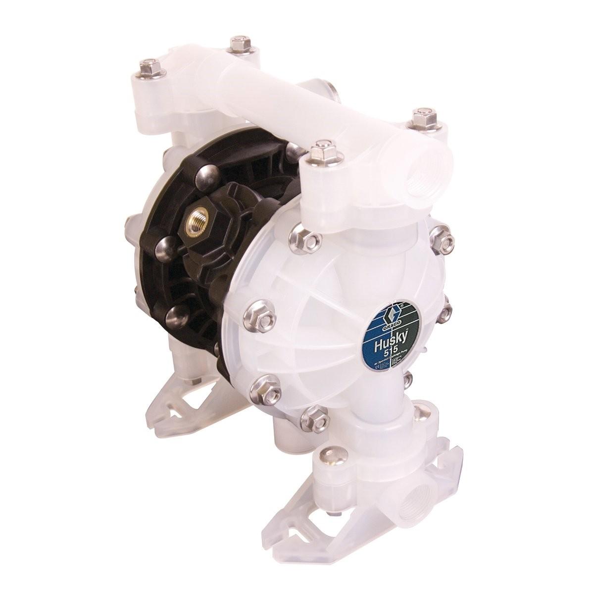 """D5B966 1//2/"""" Graco Husky 515 Poly//Sant AT15//VA15 Air Diaphragm Pump AODD"""
