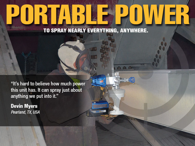 spray nearly everything anywhere