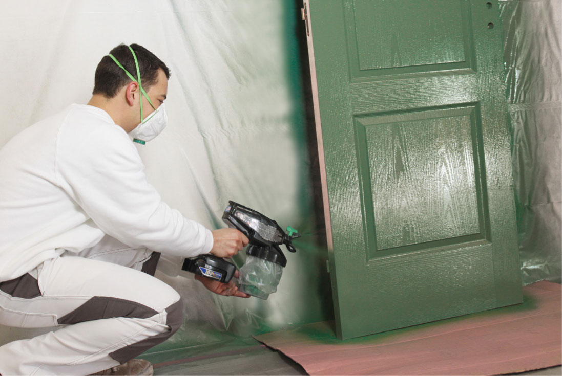 Spray Painting Without A Mask